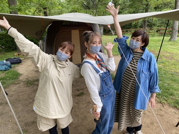 経験値ほぼゼロ!藤本美貴・井上和香・みかん、3人のママがキャンプに挑戦。絶品アウトドア飯作りに挑みます! (1)
