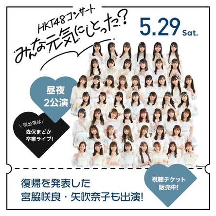 【LINE】デビュー10周年!HKT48約1年半ぶりのコンサート&森保まどか卒業式をLINE LIVE-VIEWINGで国内独占生配信!ライブを盛り上げる限定グッズやオリジナル応援アイテムも (1)