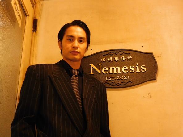 中村蒼が公開した『ネメシス』