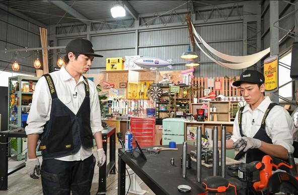 『NEWSの全力!!メイキング』加藤シゲアキ、小山慶一郎(NEWS) (c)TBS