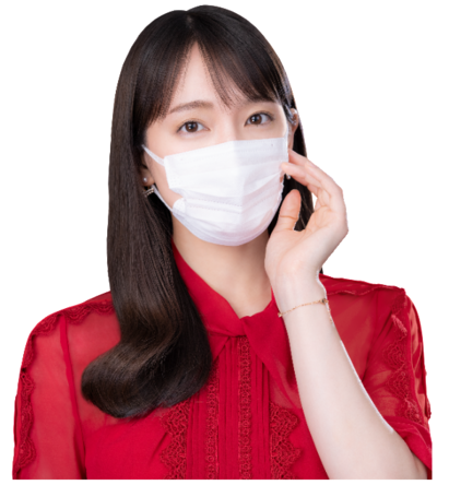 女優の吉岡里帆出演 新TVCM「ナノエアーマスクシリーズ」「とぼける女」篇を6月19日より全国放送開始