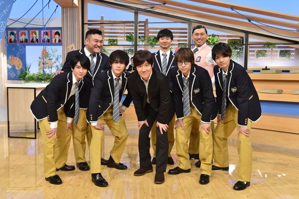 『スクール革命!』出演者の皆さん (c)NTV