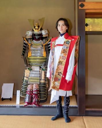 俳優・板垣李光人さんが松戸市「戸定邸」を訪問! (1)