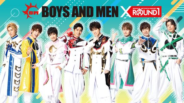 ROUND1とBOYS AND MENがコラボレーション