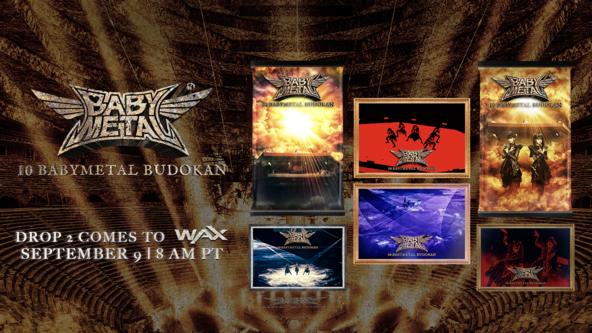 BABYMETAL、新たに限定NFTトレーディングカード「10 BABYMETAL BUDOKAN」発売決定! (1)