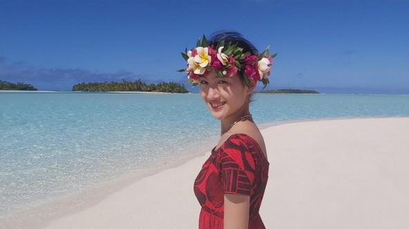 『世界ふしぎ発見!』「楽園クック諸島」<ミステリーハンター>野口絵子(1) (c)TBS