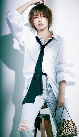 人気お天気キャスター・阿部華也子が、ファッション誌でハンサム大変身!「自分のなかにこんなにクールな一面があるなんて」