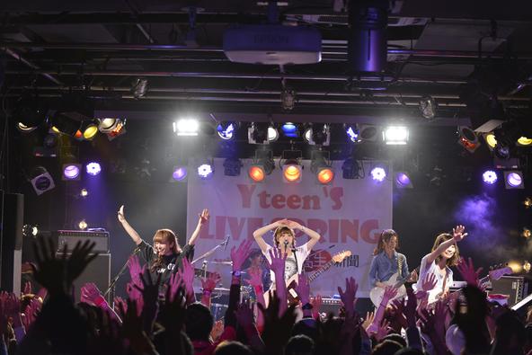 住岡梨奈、ケラケラ、サイサイ出演の「Yteen's LIVE」で中高生のパワー爆発