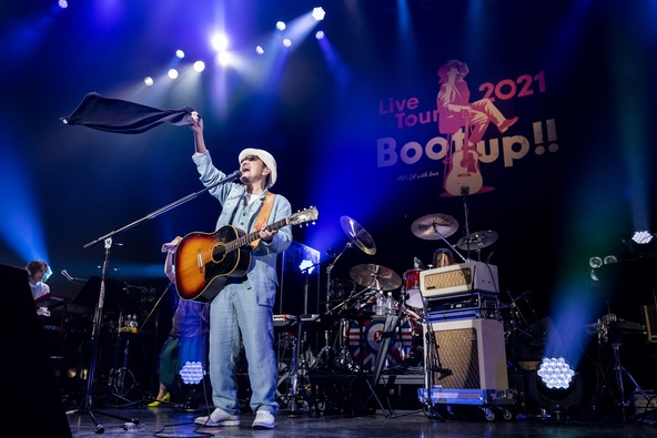 WOWOWプラスで10月31日独占放送!『Chage Live Tour 2021~Boot up!!~』の放送楽曲が決定! (1)