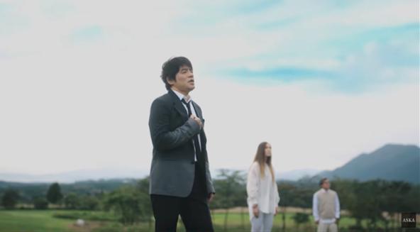 ASKA・初シングルカット『PRIDE』リリース&MV全編公開中