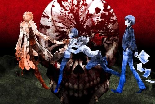 「乱歩奇譚 Game of Laplace」最終キービジュアルが公開、放送後にはさらに進化