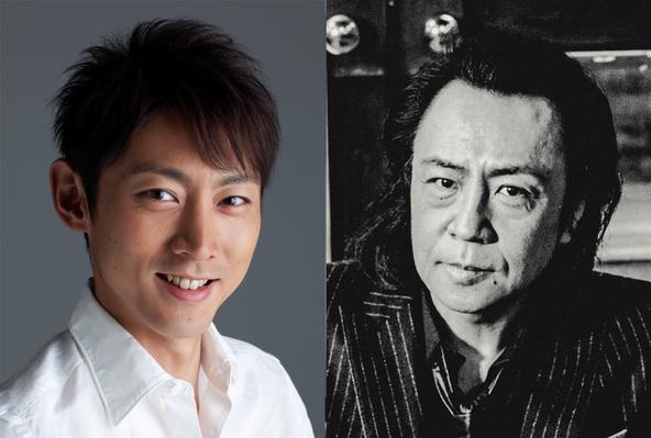 日曜劇場「下町ロケット」後半パートに出演する、小泉孝太郎と世良公則